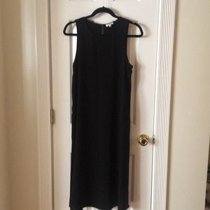 Wilfred/Aritzia Midi Black Dress